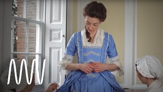 Getting dressed in the 18th century