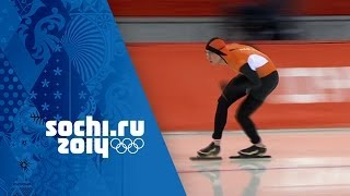 Speed Skating - Men's 10000m - Jorrit Bergsma Wins Gold | Sochi 2014 Winter Olympics