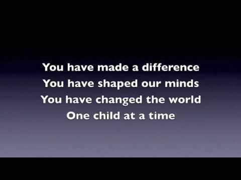 Koolearn-Bài hát tiếng Anh ngày nhà giáo 20 tháng 11- You Have Made A Difference