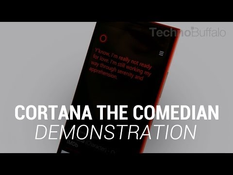Cortana the Comedian