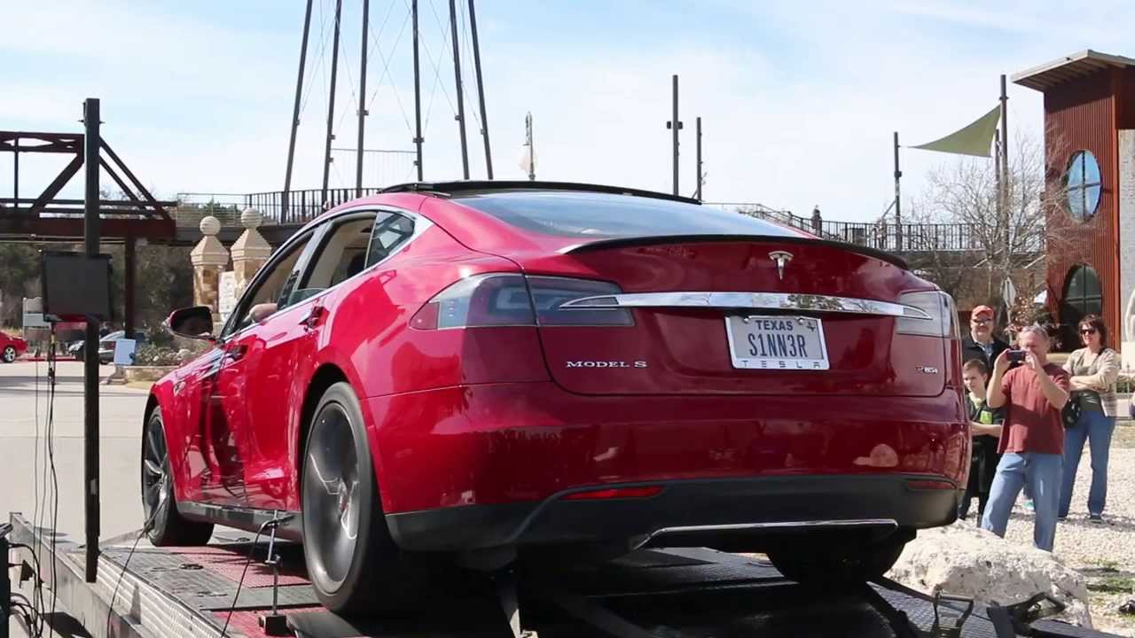 Cars And Coffee Austin Tesla Model S Dyno Youtube