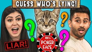 CAN YOU GUESS WHO'S LYING?   Poker Face (REACT)