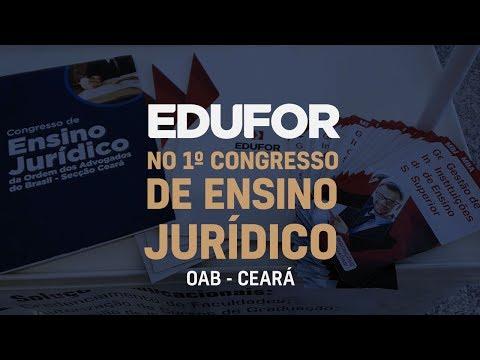 Edufor Consultoria no 1º Congresso de Ensino Jurídico