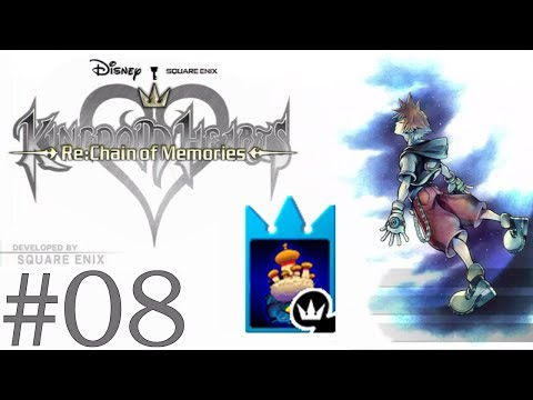 Let's Play Kingdom Hearts Re:Chain of Memories [Deutsch/Profi] #08 - Mogry-Räume