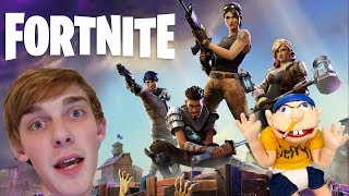 LOGAN'S 1st FORTNITE WIN!! (Live Stream)