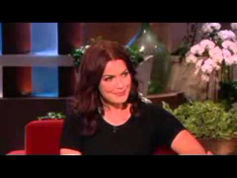 Bellamy Young Dishes on 'Scandal' on Ellen show