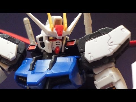 RG Aile Strike (Part 2: Parts) Gundam Seed gunpla model review