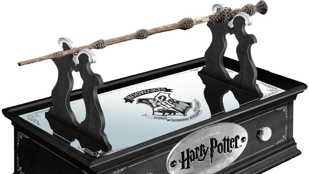 Harry potter 8 film complete collection blu ray with wand for Elder wand toy