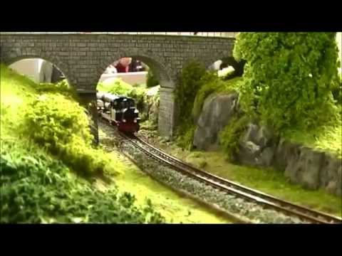 Compilation of European Model Train Layouts