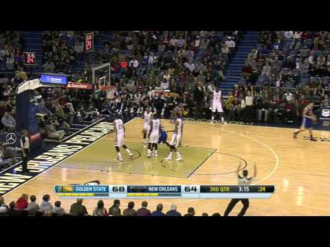 Golden State Warriors vs New Orleans Pelicans 2014.1.18