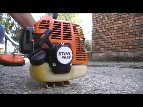 my stihl fs 85 brushcutter youtube. Black Bedroom Furniture Sets. Home Design Ideas