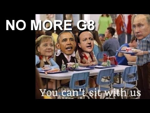 Obama Gets G8 to Kick Out Russia from G8