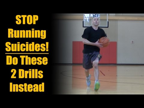 Basketball Drills: STOP Running Suicides! NEW Running Lines Drills