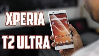 Sony Xperia T2 Ultra, Review En Español