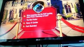 Walkthrough Shrek 2 Mini Game Quiz Save Fiona DVD