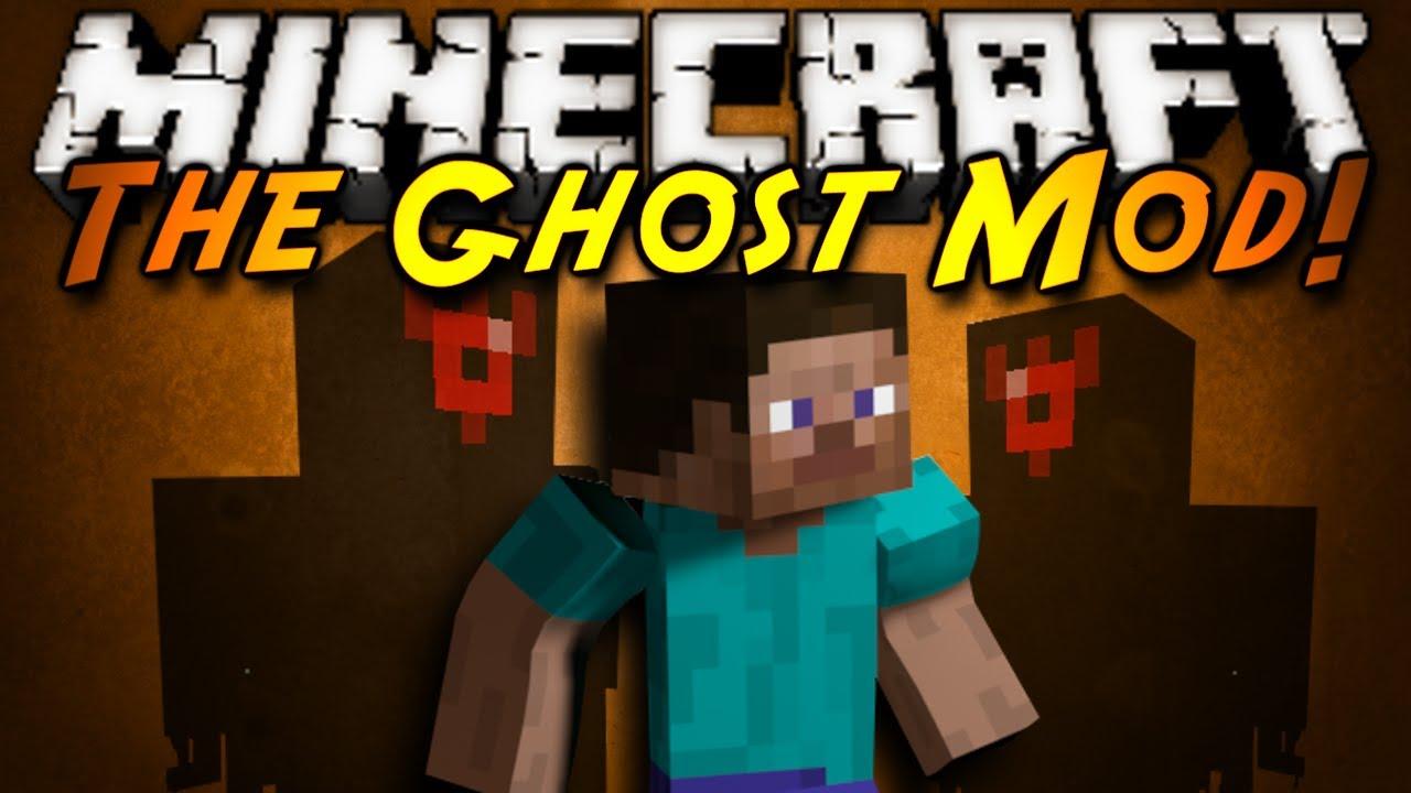 Minecraft mod showcase the ghost mod youtube