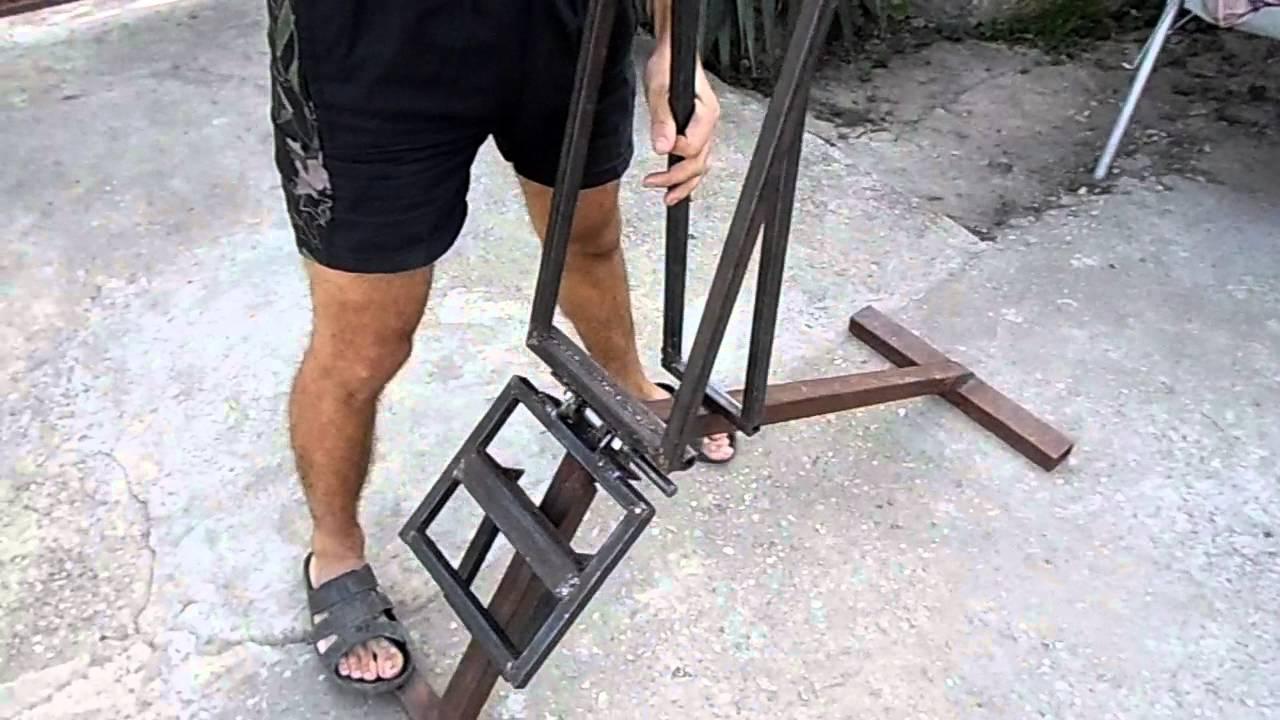 Как своими руками сделать скамью для жима 40