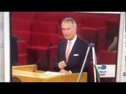 Jeffrey Bercow Gets His Microphone Turned Off at Miami Dade County Commission Meeting