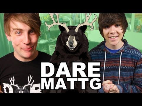 DARE MATTG 22 (Bromosexual Prank call, Kitchen Scuba diving, justin bieber)