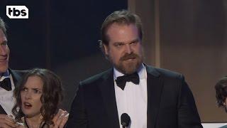 Stranger Things Cast: Acceptance Speech | 23rd Annual SAG Awards | TBS