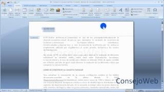 Word 2007 2010 Como Hacer Un Encabezado Y Pie De Pagina En