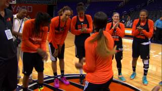WNBA All Stars Let Loose During Practice