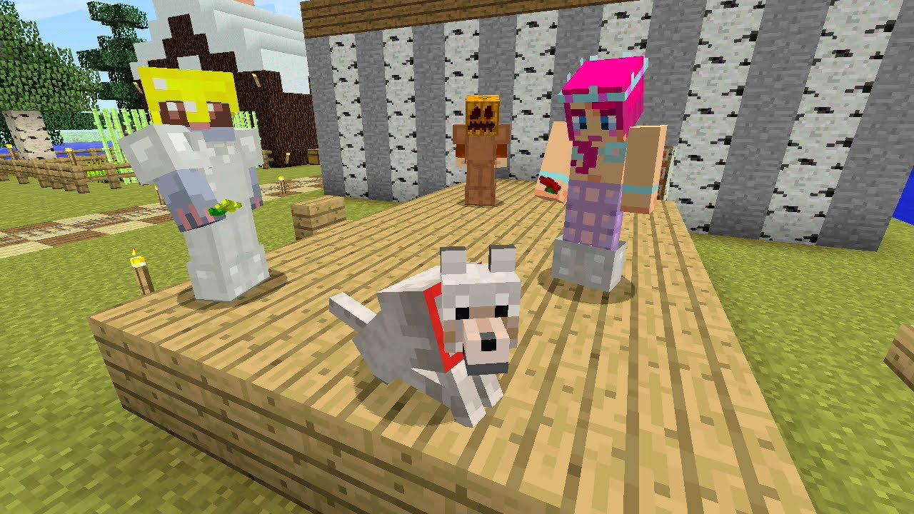 Stampy Cats Dog House