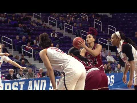 NM State/Stanford highlights 2017 NCAA WBB tournament