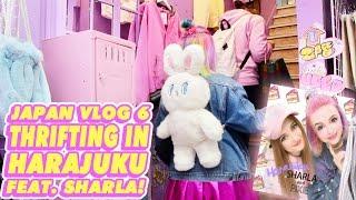 ♡ THRIFTING IN HARAJUKU WITH SHARLA IN JAPAN!   JAPAN VLOG 6 ♡