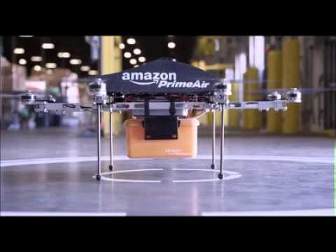 Amazon Tests Unmanned Drones As Deliverers