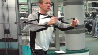 How To Do A Standing Cable Chest Press