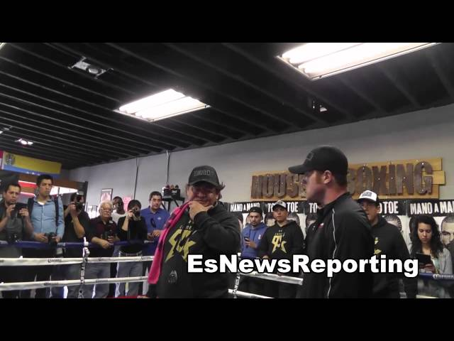 canelo alvarez vs perro angulo canelo gets ready for war EsNews Boxing
