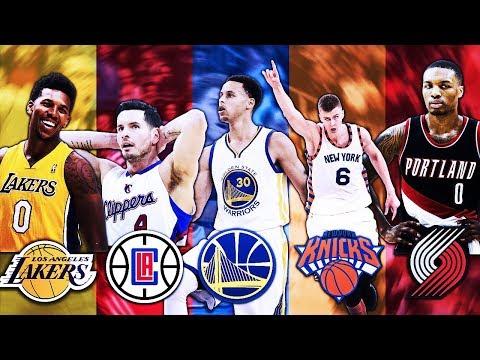 BEST 3 POINT SHOOTER FROM EACH NBA TEAM
