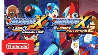 Mega Man X Legacy Collection 1 & 2 Announcement Trailer - Nintendo Switch