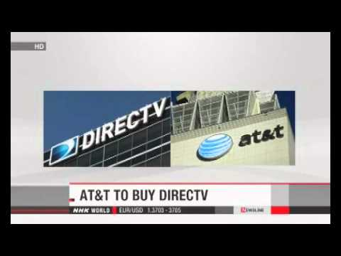 AT&T set to buy DirecTV