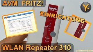 Einrichtung & Konfiguration: FRITZ! WLAN Repeater 310