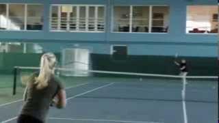 Mia Jurasic College Tennis Recruiting Video Fall 2014
