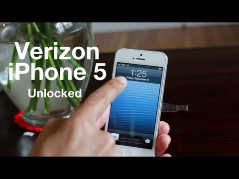 Verizon iPhone 5 GSM Unlocked - works with AT&T, etc.