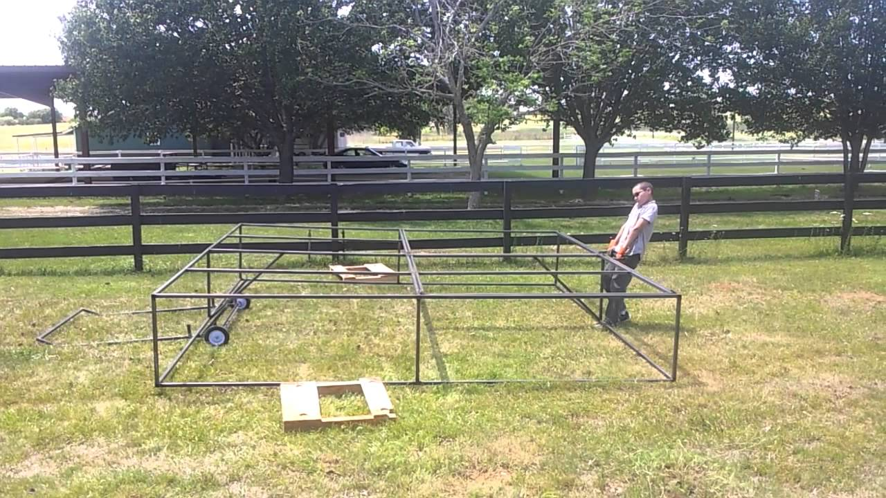 Just Coop Plans For Salatin Chicken Tractor