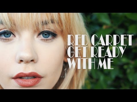 GET READY WITH ME: Red Carpet Look!