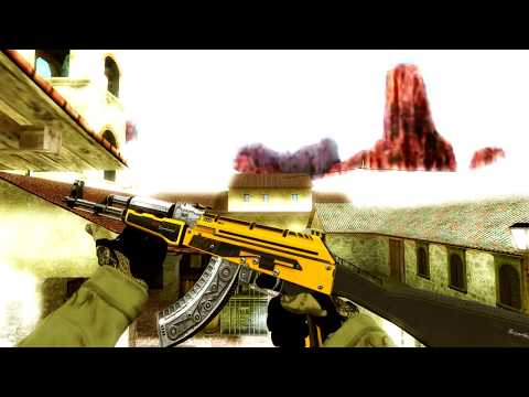 CS:GO Skins for CS 1.6 - AK-47 Only with Gloves (Special Edit for 3K Subs)