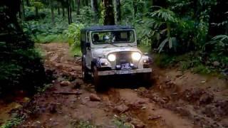 MM550 and MM540 performing slight slushy rocky terrain