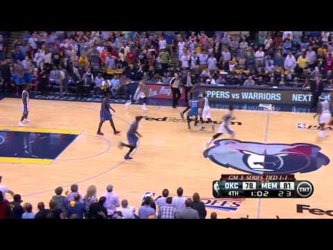 Oklahoma City Thunder vs Memphis Grizzlies Game 3 | April 24, 2014 | NBA Playoffs 2014
