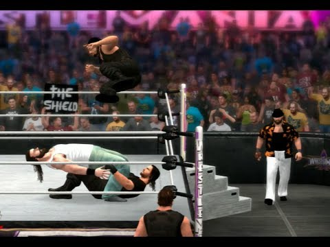hqdefault jpgWwe 2k14 The Wyatt Family Vs The Shield
