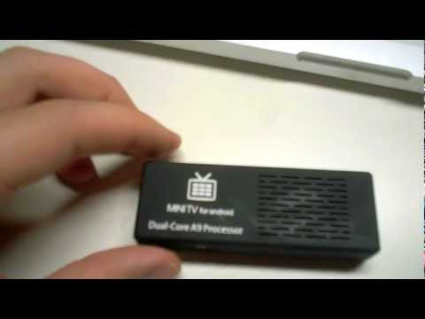 MK808 Mini PC / Mini TV Stick Review Android Jelly Bean