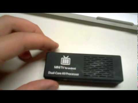 MK808 Mini PC / Mini TV Stick Review Android Jelly Bean