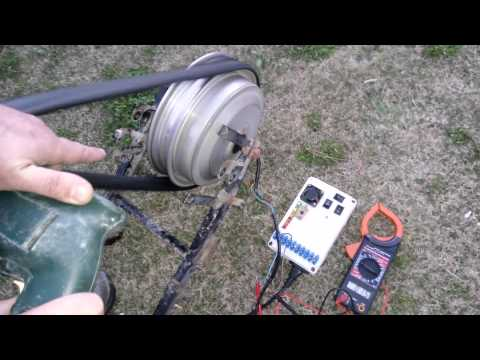 Rüzgar Jeneratörü Yapımı Dinamo Testleri 1- Hub Motor (Elektrikli ...