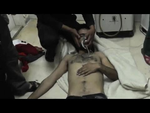 Syrian Opposition Group Claims Chlorine Gas Attack