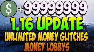 GTA 5 Update 1.16 GTA 5 Unlimited Money Glitch Money