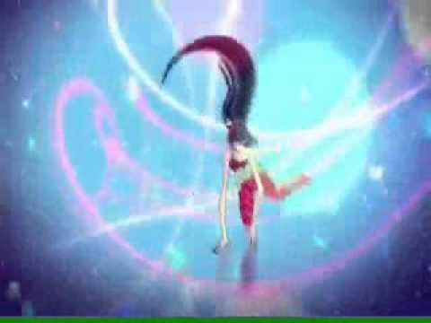 Biến hình Sirenix 2D, Winx Club.